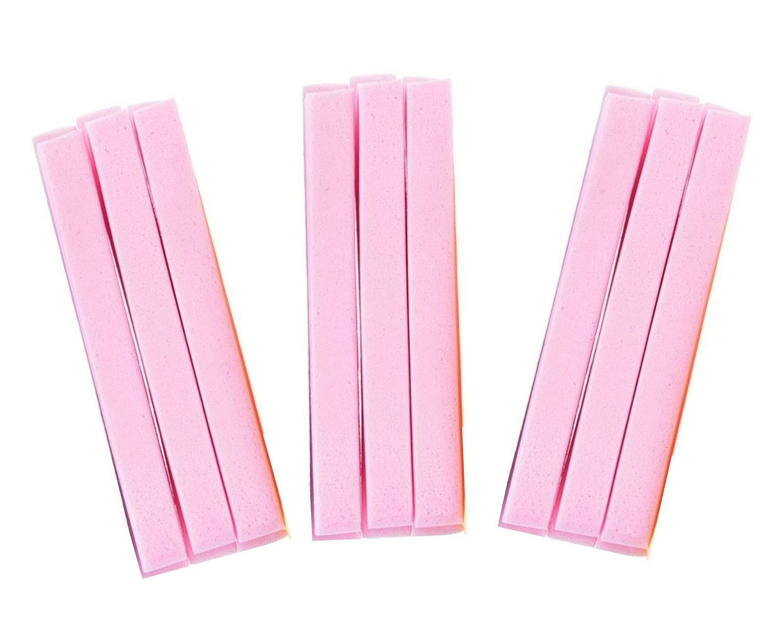 Huini Compressed Salon Spa Facial Cleansing Sponge Sticks, Natural (240 Count) (Pink) CD- 114 x 20