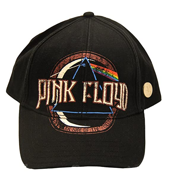 844059d71b0 Pink Floyd- Dark Side of the Moon Album Snapback Hat Size ONE SIZE ...