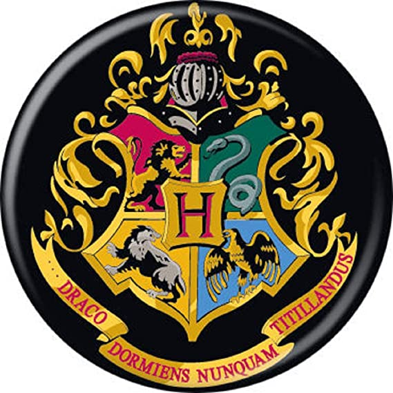 Ata-Boy Harry Potter Deathly Hallows Insignia 3 Full Color Iron-On Patch