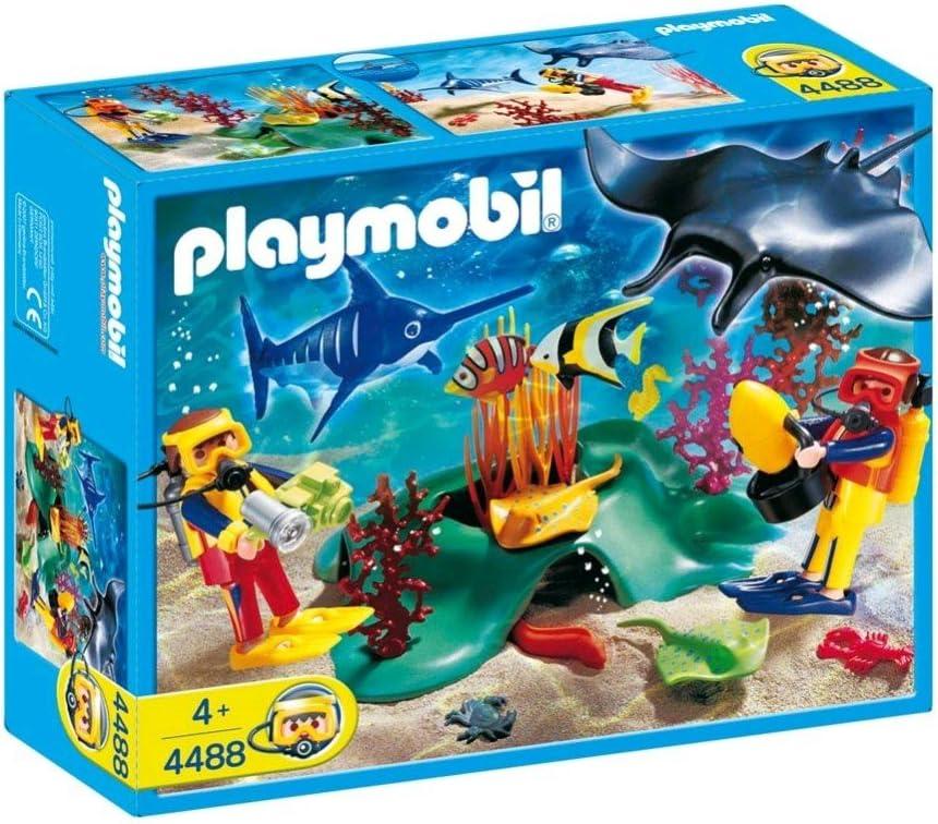 PLAYMOBIL 4488 - Submarinistas.: Amazon.es: Juguetes y juegos