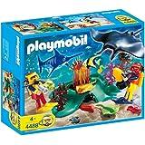 Playmobil - 4488 - Plongeurs avec barrière