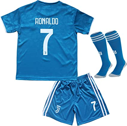 2019 2020 Cristiano Ronaldo Third Cr7 Juve Juventus Kids Soccer Football Jersey Youth Sizes Third 28 Jerseys Amazon Canada
