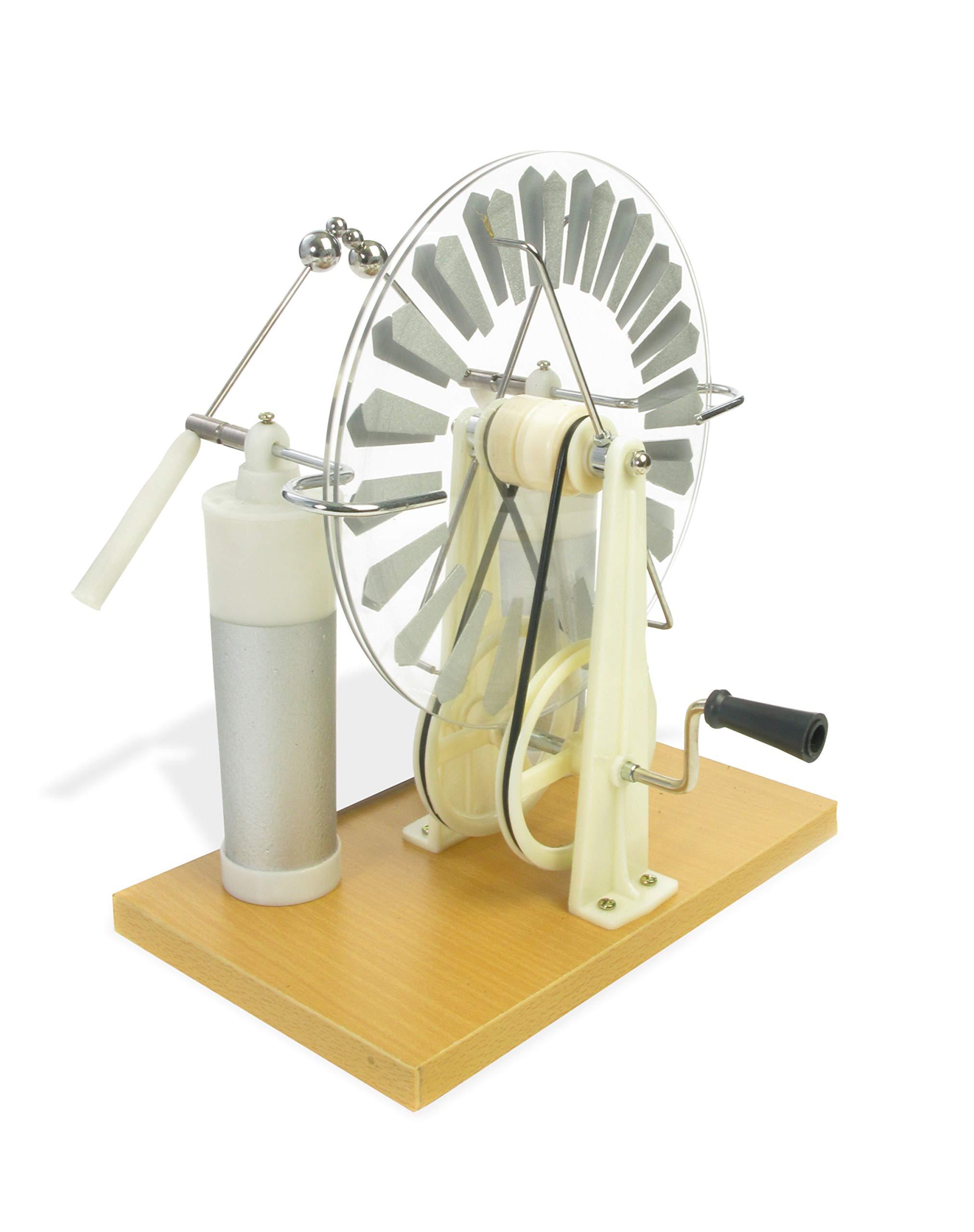 American Educational 7-509 Plastic Economy Wimshurst Machine