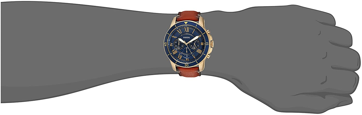 ac9e3577e1b Buy Fossil Analog Blue Dial Men s Watch-FS5268 Online at Low Prices in  India - Amazon.in