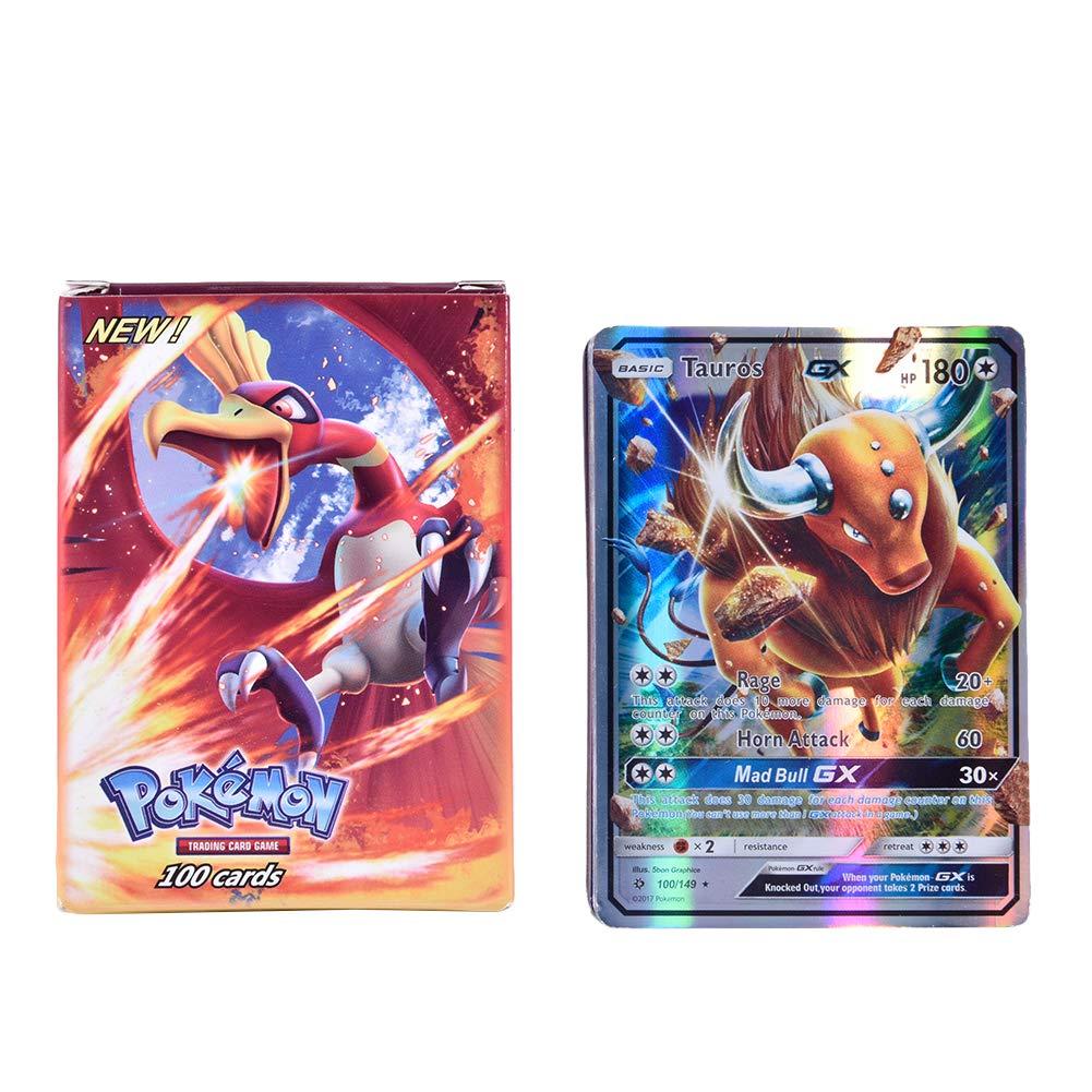Pokemon 100cards Tcg Ex Gx Trading Card Game Pokemon Cards