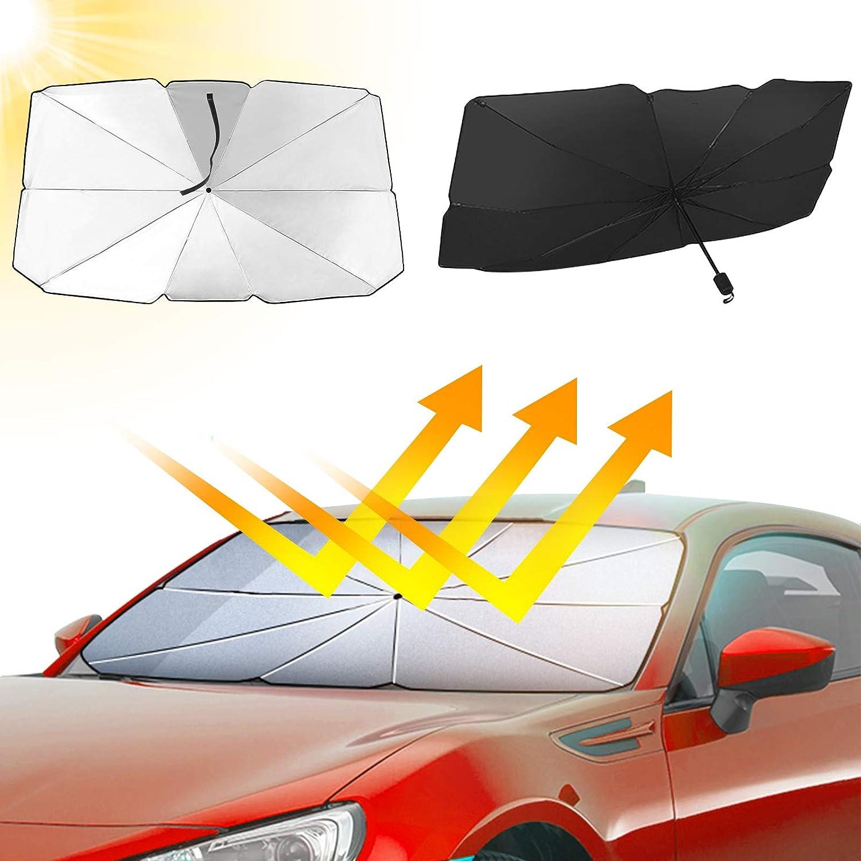 TimBeve Lilo /& Stitch Car Windshield Sun Shade 51 X 27.5 Inches Blocks UV Rays Sun Visor to Keep Your Vehicle Cool and Damage Avoid