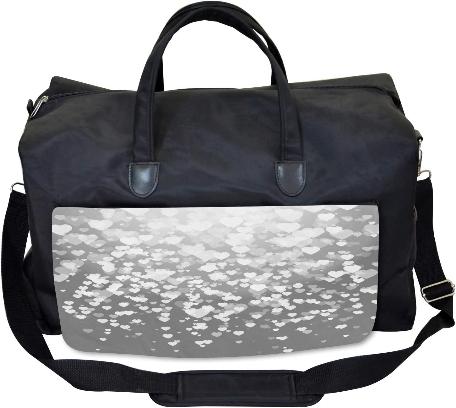 Ambesonne Abstract Gym Bag Large Weekender Carry-on Sunshines Marriage