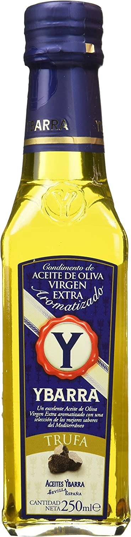 Ybarra Aceite de Oliva Virgen Extra Aromatizado de Trufa - Paquete de 6 x 250 ml - Total: 1500 ml