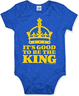 product image for Hank Player U.S.A. Good to Be The King Baby Onesie
