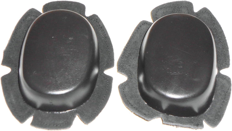 Qualit/é Moto genou Slider Noir Paire