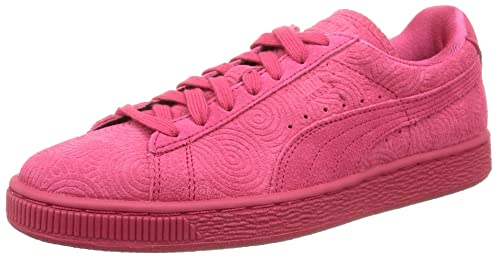 Puma Women's Classic COL Low-Top Sneakers, Rose Red/Rose Red, 4.5