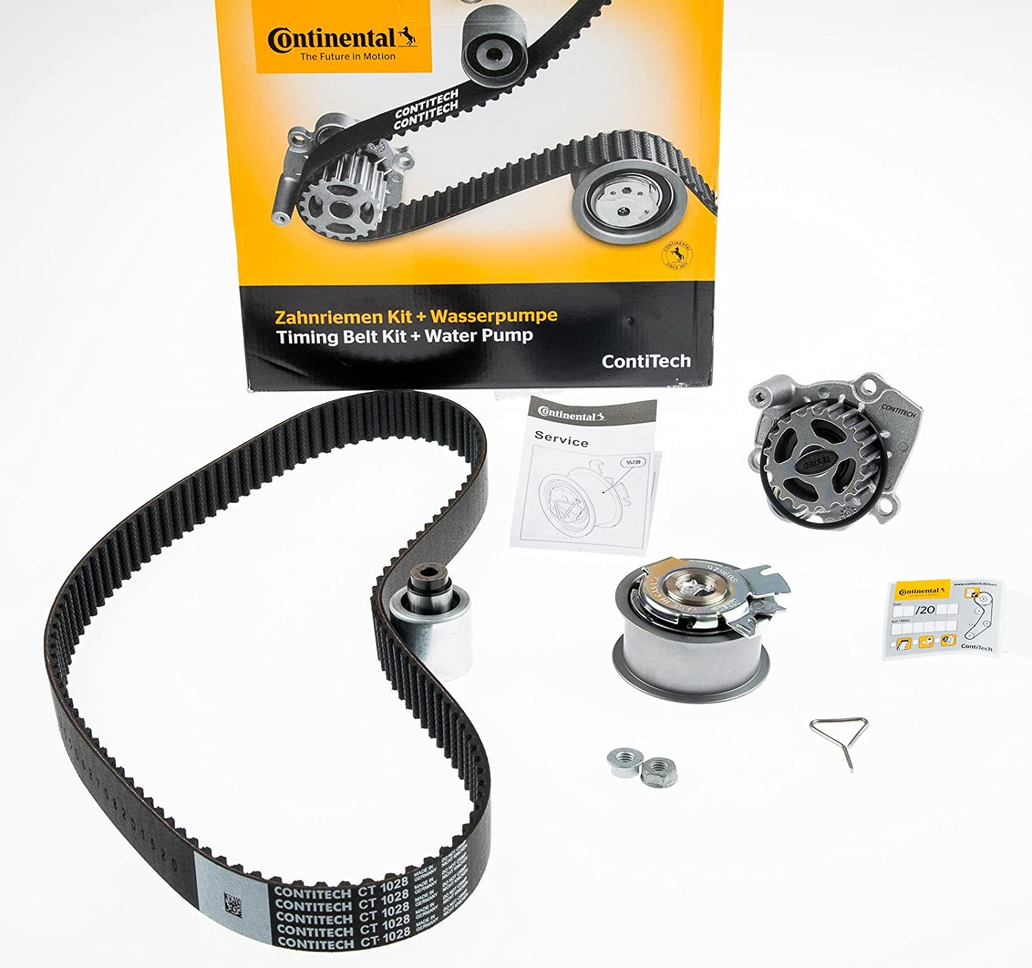 Contitech Ct1028wp3 Water Pump Timing Belt Kit Amazonco Outer Cover Car Motorbike