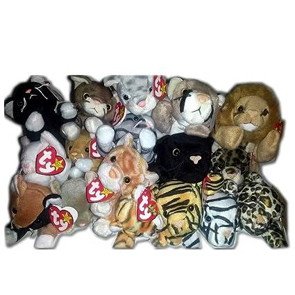 Amazon.com   Ty Beanie Baby Feline Bundle  Cats 1243030142da