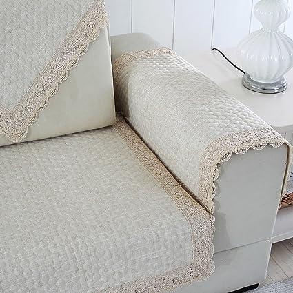 Amazon.com: HYDBFKJUBVFU European lace Sofa Towel,Sofa ...