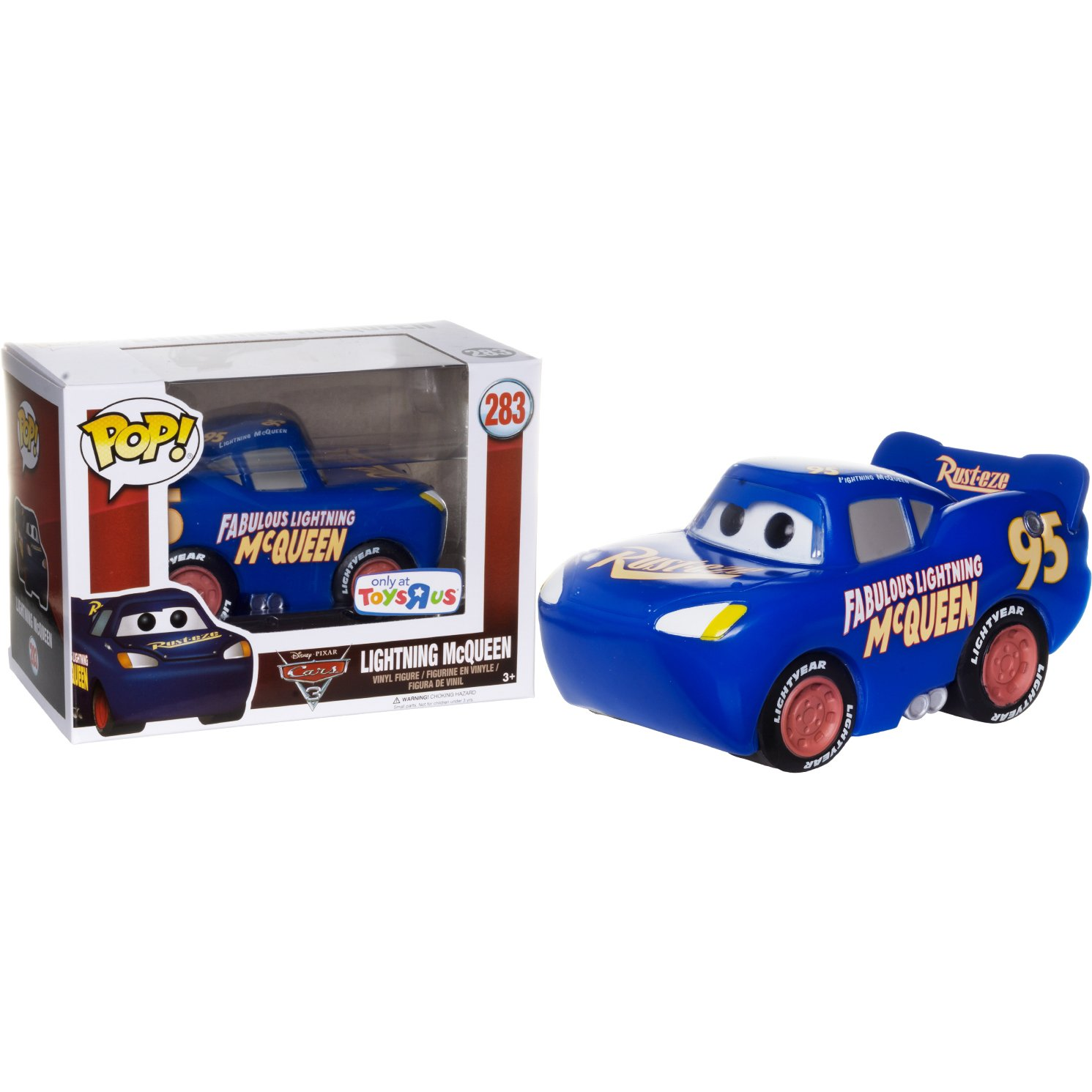 Amazon Com Funko Lightning Mcqueen Toys R Us Exclusive Pop