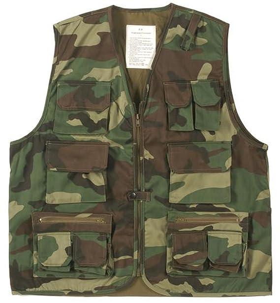 ... Style con muchos bolsillos Ranger Chaleco exterior Chaleco en diferentes colores S - 5 x l Tallas especiales Negro Bosque: Amazon.es: Ropa y accesorios