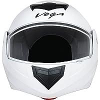 Vega Crux DX Flip-Up Helmet (White, L)