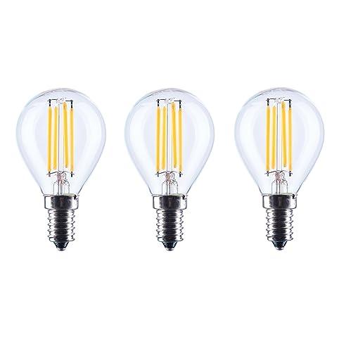 Aselihgt G45 6 W LED Vintage Leuchtmittel, E14 Dimmbar 2700 K Edison LED  Leuchtmittel