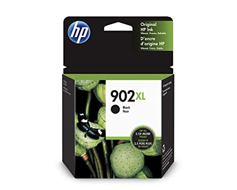 Amazon.com: HP 902XL Cartucho de tinta negra original de ...