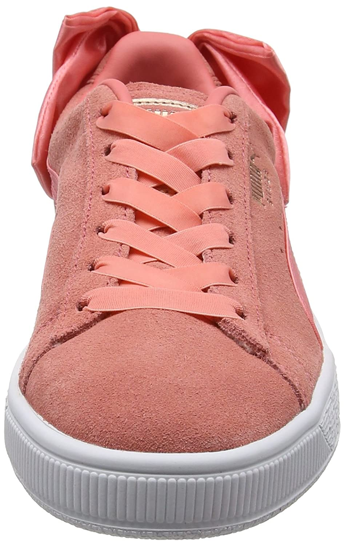 Puma Damen Suede Bow Pink-shell WN's Sneaker Pink (Shell Pink-shell Bow Pink) 83c9d2