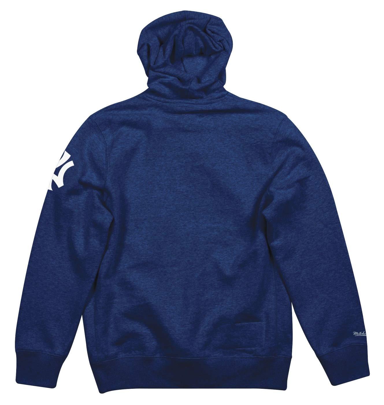 new style 409e2 fda67 Mitchell & Ness New York Yankees MLB Playoff Win Pullover Hooded Sweatshirt