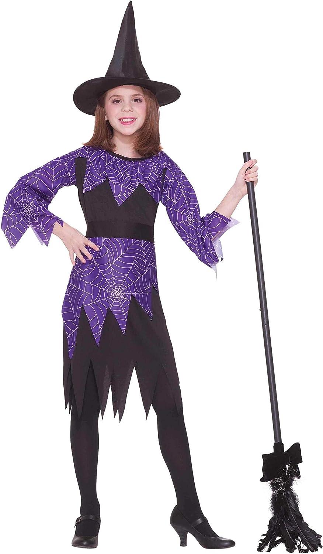 Amazon Com Forum Novelties Spider Witch Costume Child Medium Toys Games