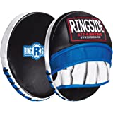 Ringside Gel Micro Boxing MMA Punch Mitts (Pair), Blue/Black