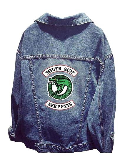Riverdale Southside Serpents Jacke Damen Teenager Mädchen Mode