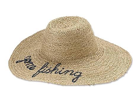 0fb8ec8a456c1 Orvis Women s Gone Fishing Straw Sunhat at Amazon Women s Clothing ...
