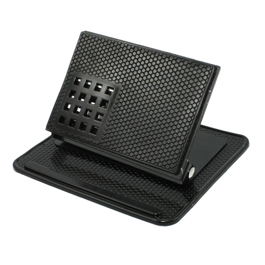 Amazon.com: uxcell Black Car Holder Bracket Cradle w Non-Slip Mat for GPS Phone: GPS & Navigation