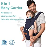Bable 9-in-1 Baby Carrier with Hip Seat