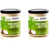 Coconut Kitchen Naked Coconut Butter Organic Coconut & Vanilla Gluten-free Peanut-free Dairy-free No Refined Sugar (2-pack 9 oz jars)