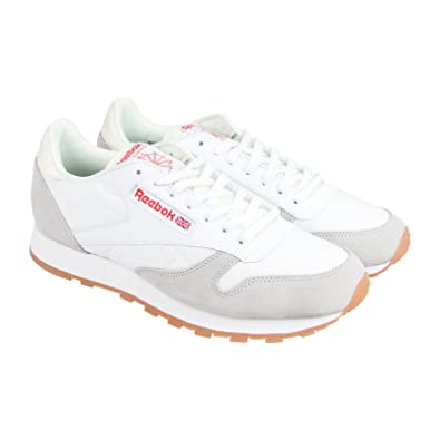 reebok classic leather men's casual shoes