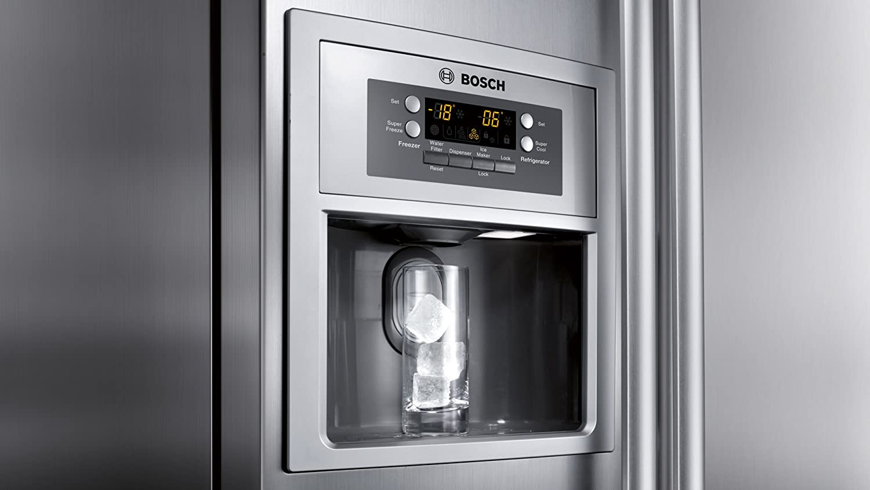 Bosch Kühlschrank Mit Eiswürfelbereiter : Bosch kan a side by side a kühlen l gefrieren