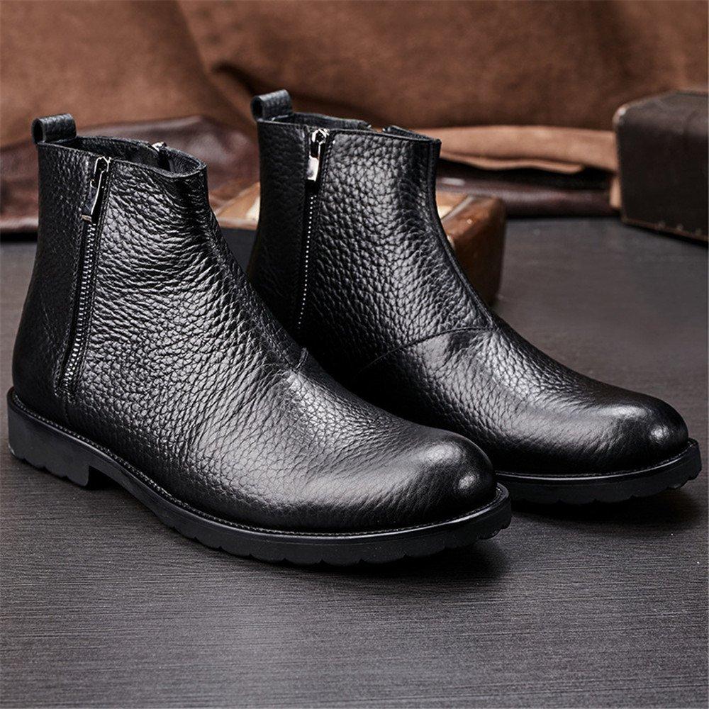 Männer - stiefel aus aus aus england chelsea - stiefel, schuhe mit reißverschluss,schwarz,41 3b5912