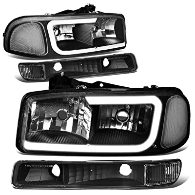 DNA Motoring LED DRL Front Bumper Headlight/Lamps Replacement: Automotive
