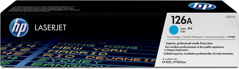 HP 126A | CE311A | Toner Cartridge | Cyan