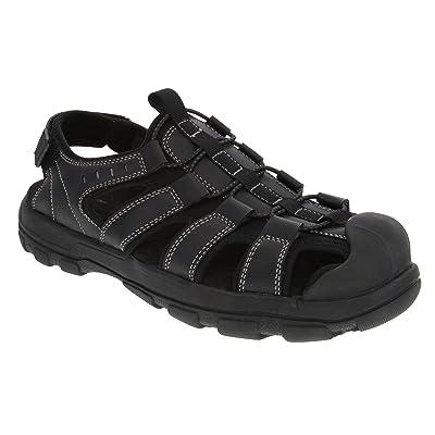 London Fog Mens Finsbury Bumptoe Athletic Sandals | Sandals