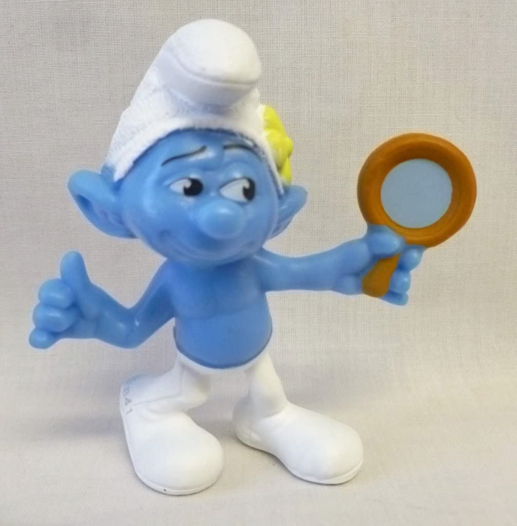 Amazon Com Mcdonalds The Smurfs 2 2013 Happy Meal Toy Vanity 8 Other Products Everything Else