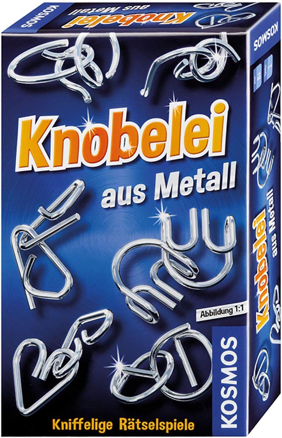 Knobelei aus Metall: Mitbringspiel für 1 Spieler ab 8 Jahren