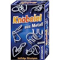 Knobelei aus Metall: Mitbringspiel für 1 Spieler ab