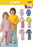 New Look NL6170 Patron de Couture Vêtements de Nuit pour Enfants 22 x 15 cm