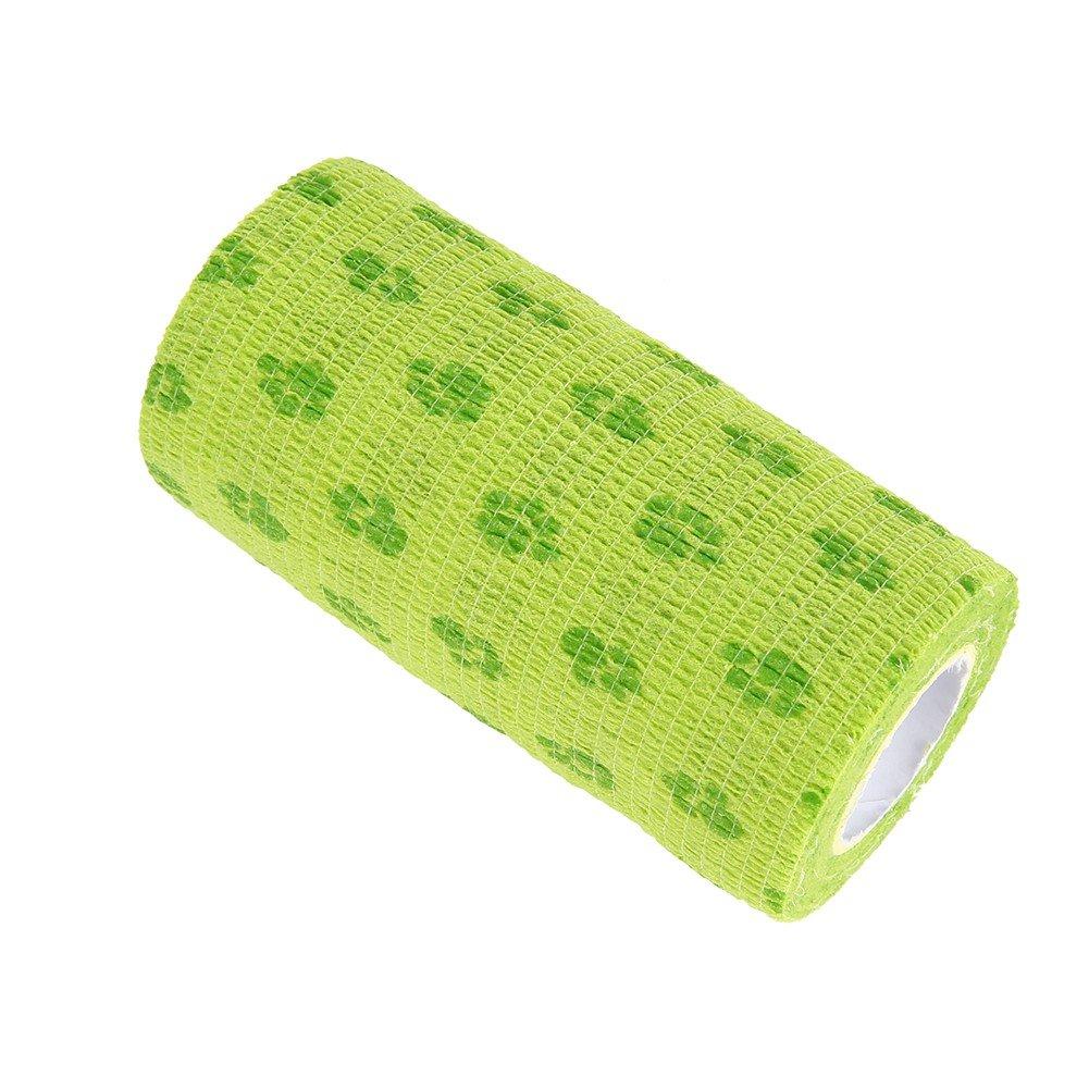 Tutuba Pet dog Cat Self-adhesive Elastic Bandage,Bandage Wrap Vet Tape For Animals