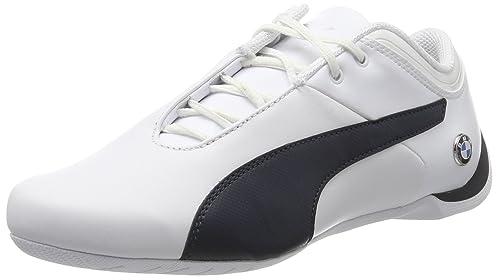 Buy Puma Men's White-Team Blue Leather