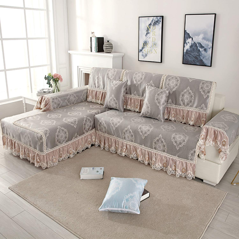 Admirable Amazon Com Balalei Summer Ice Silk L Style Sofa Cover For Uwap Interior Chair Design Uwaporg