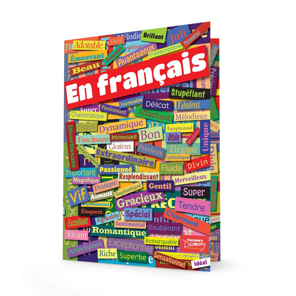 French Adjectives Folders by Teacher's Discovery