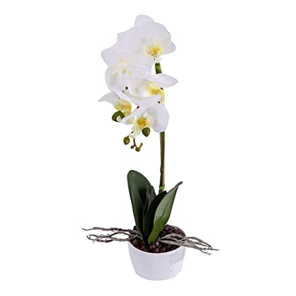 Led Table Lamps Decoration Led Light Garden Energy Saving Arrangement Artificial Potted Balcony Orchid Flower Home Table Battery Operated Lights & Lighting