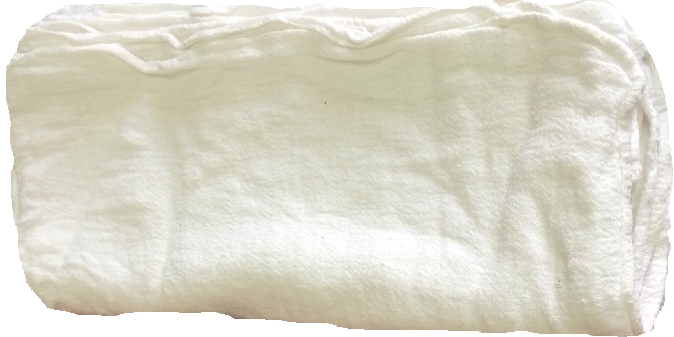 ATLAS Cotton Auto Shop Towels, 2,500-Pieces, White