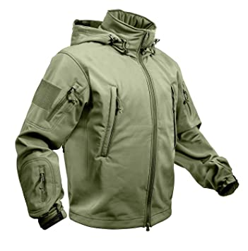 Chaqueta Soft Shell Rothco Special Ops - 613902974531, Large, Olive Drab: Amazon.es: Deportes y aire libre