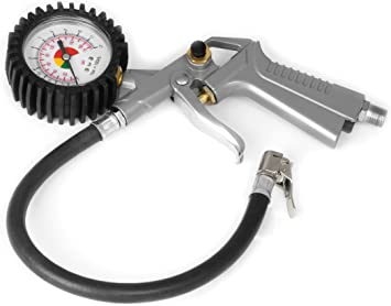 Performance Tool M585DB Heavy Duty Tire Inflator with Gauge